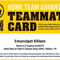 Emancipet Killeen Home Team Advantage
