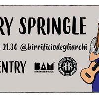 Jerry Springle live at Birrificio degli Archi