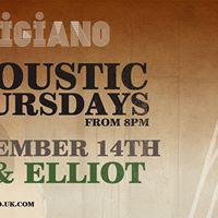Artis Acoustic Thursdays - with AJ &amp Elliot