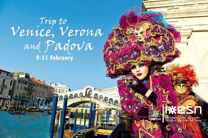 Trip to Venezia Verona e Padova By ESN Roma ASE