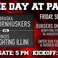 Game Day at Panic Huskers vs. Illinois