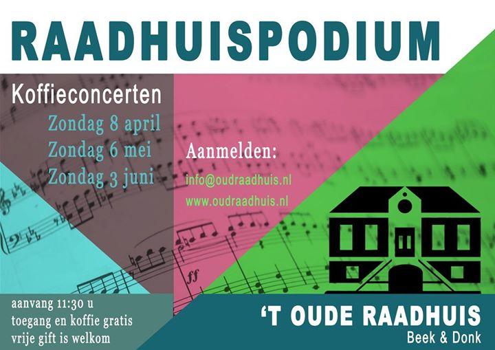 Raadhuispodium Unieke Koffieconcerten Heuvelplein Laarbeek Live