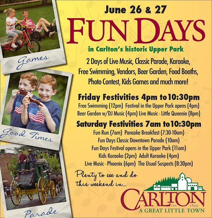 Carlton Fun Days Carlton Goes Country At Carlton Or
