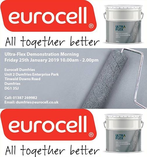 Ultra-Flex Demo Morning at Eurocell Dumfries