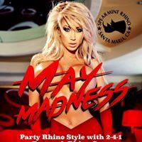 Spearmint Rhino Gentlemens Club May Madness Party Rhino Style