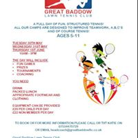 GBLTC May Half-term Junior Camps