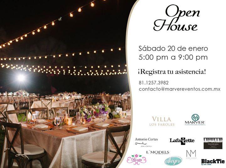 Open House Villa Los Faroles At Blacktie Dj Monterrey