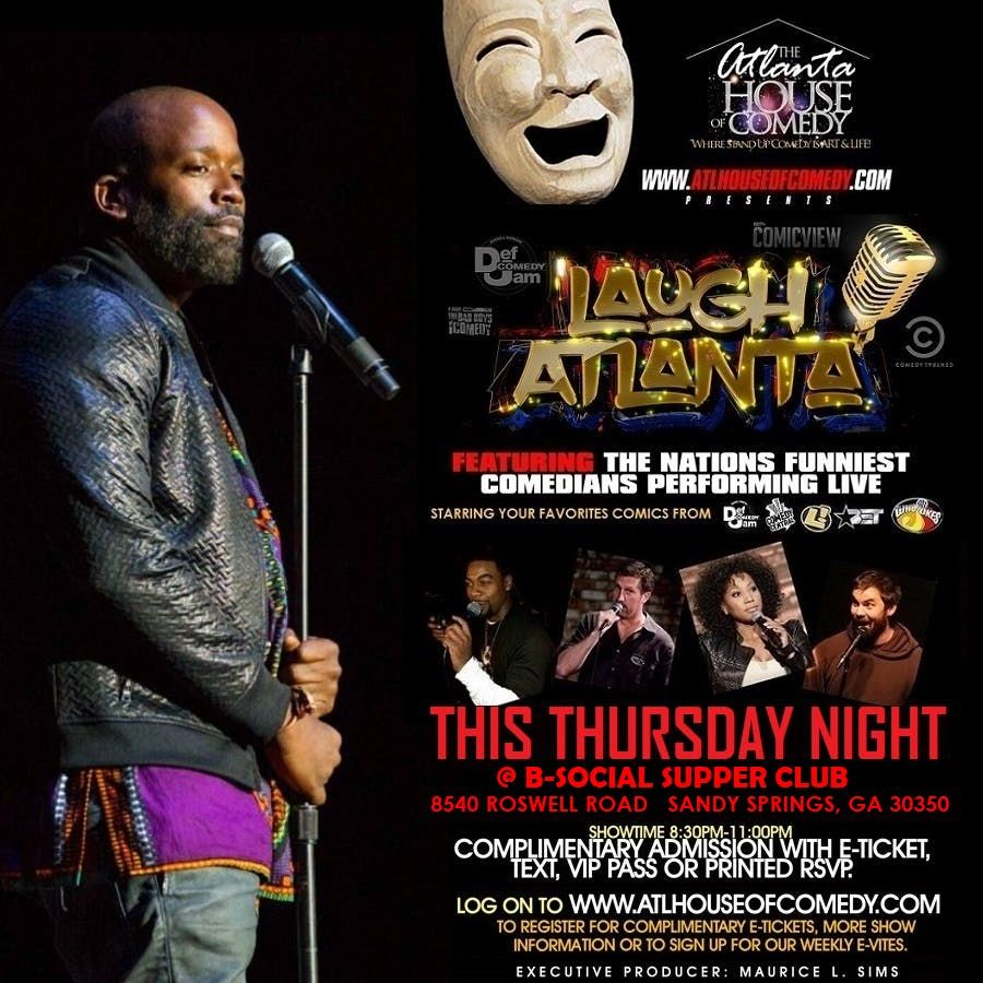Laugh Atlanta presents Thursday Night Comedy