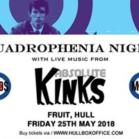 Quadrophenia Night Absolute Kinks I Fruit I 250517