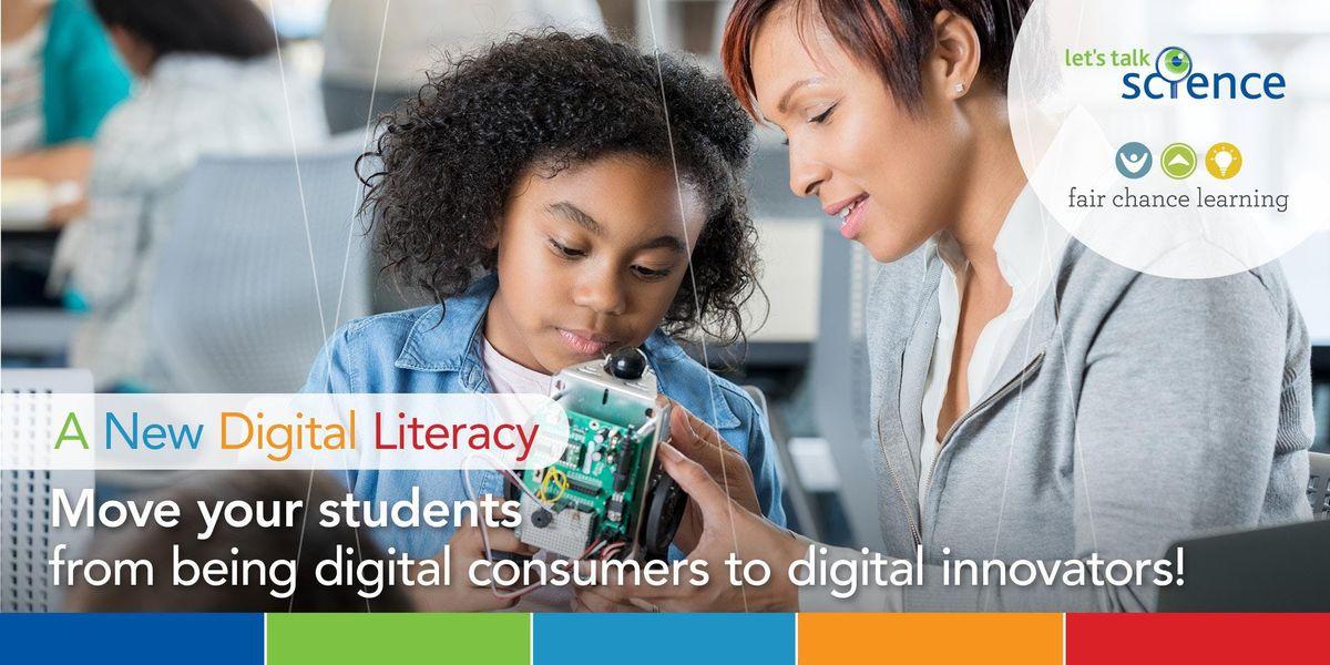 New Digital Literacy for Educators  Professional Learning Summit