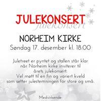 Julekonsert i Norheim kirke