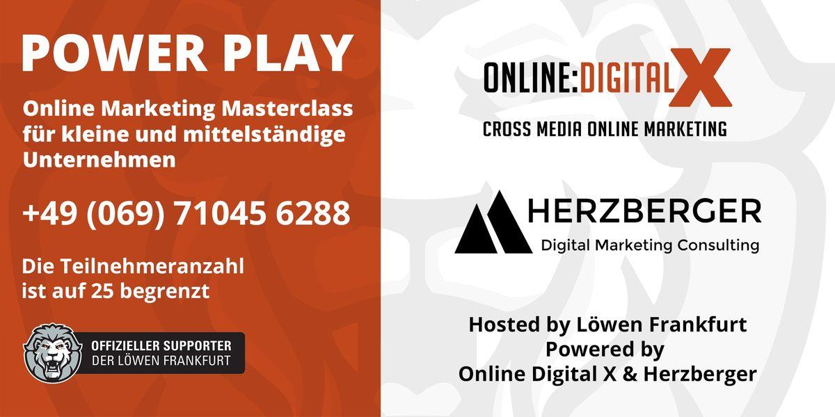 Power Play Online Masterclass fr kleine und mittelstndische Unternehmen