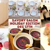 Savory Salon Holiday Edition