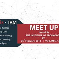 Aegis-IBM Meetup at RNS Institute of Technology Bengaluru