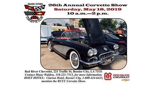 26th Annual Corvette Show At Red River Chevrolet Louisiana