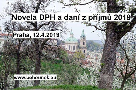 Novela DPH a Dan z pjm 2019