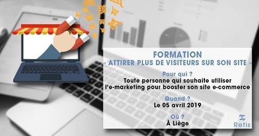 Formation Booster son site E-commerce grce  lE-marketing