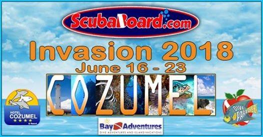 ScubaBoard Invasion 2018 Cozumel at Hotel Cozumel & Resort, Cozumel