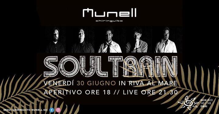 Munell presenta i Soultrain at Chiringuito Munell - Bagni Ricci 143 ...