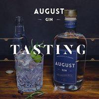August Gin Tasting 11.01.2018