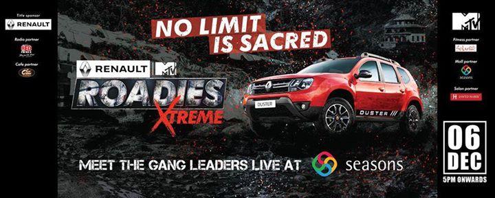 MTV Roadies Live at Seasons Mall
