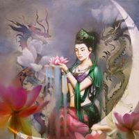 Kwan YIN-flacara Lavanda Initiere la distanta