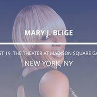 Mary J. Blige in New York