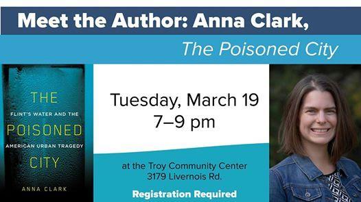 Meet the Author Anna Clark The Poisoned City