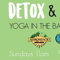Detox &amp Retox Yoga in the Barrel Room