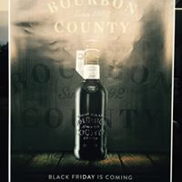 Goose Island Bourbon County Brand Stout Black Friday release