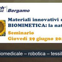 Seminario materiali innovativi e biomimetica