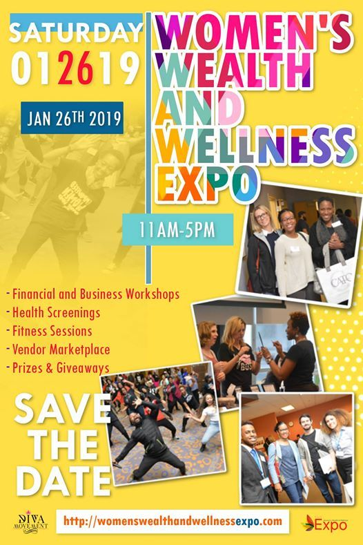 2019 Womens Wealth and Wellness Expo at OSDAA - Ohio School for the