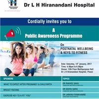 Dr L H Hiranandani Hospital invites you to a awareness programme