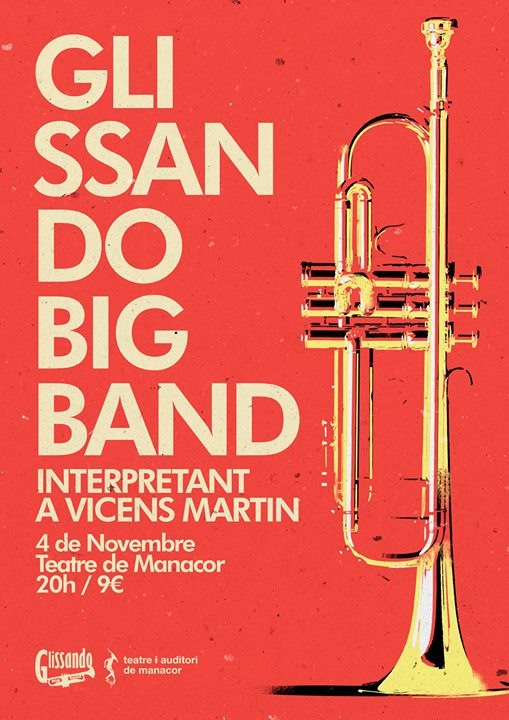 Vicens Martin amb la Glissando Big Band