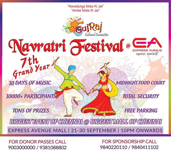 Navratri Festival At EA 2017