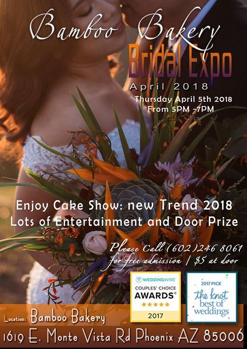 Bamboo Bakery April Wedding EXPO Phoenix