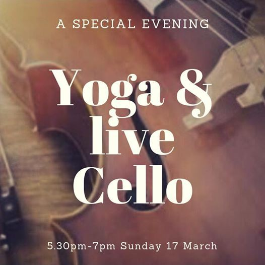 Yoga & live Cello