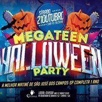 Halloween Party da Mega Teen l Sbado.21.Outubro