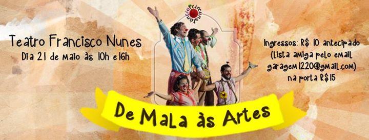 De Mala s Artes no Teatro Francisco Nunes