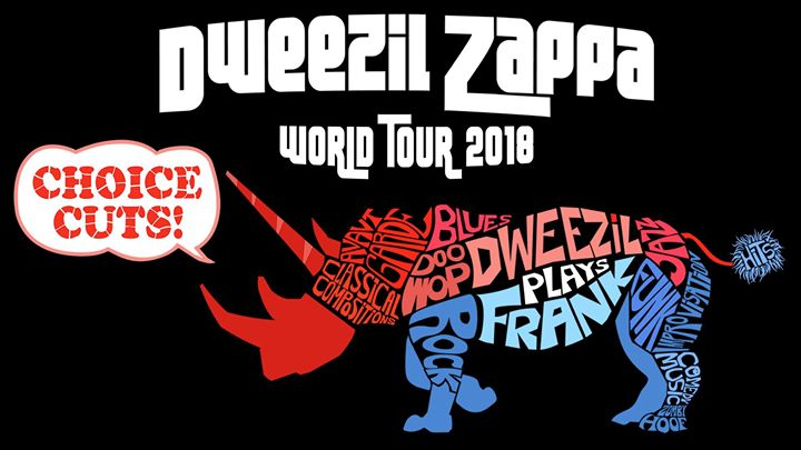 Dweezil Zappa Choice Cuts World Tour 2018