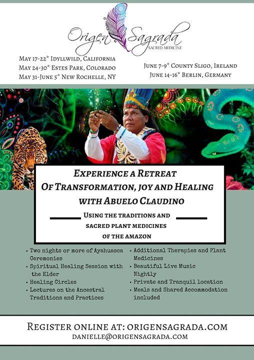 Ireland Ayahuasca Healing Retreat at County Sligo, Sligo