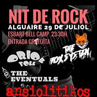 Nit De Rock 29 de Juliol a Alguaire