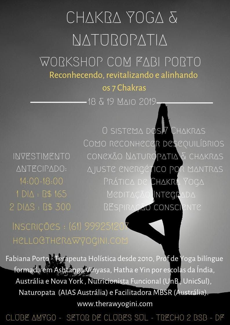 Workshop Chakra Yoga & Naturopatia