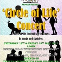 Vane Tempest Theatre Group Circle of Life Concert