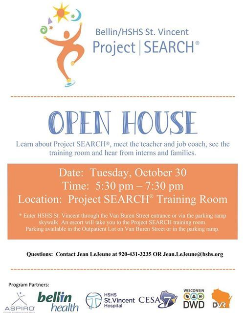 Project Search Open House