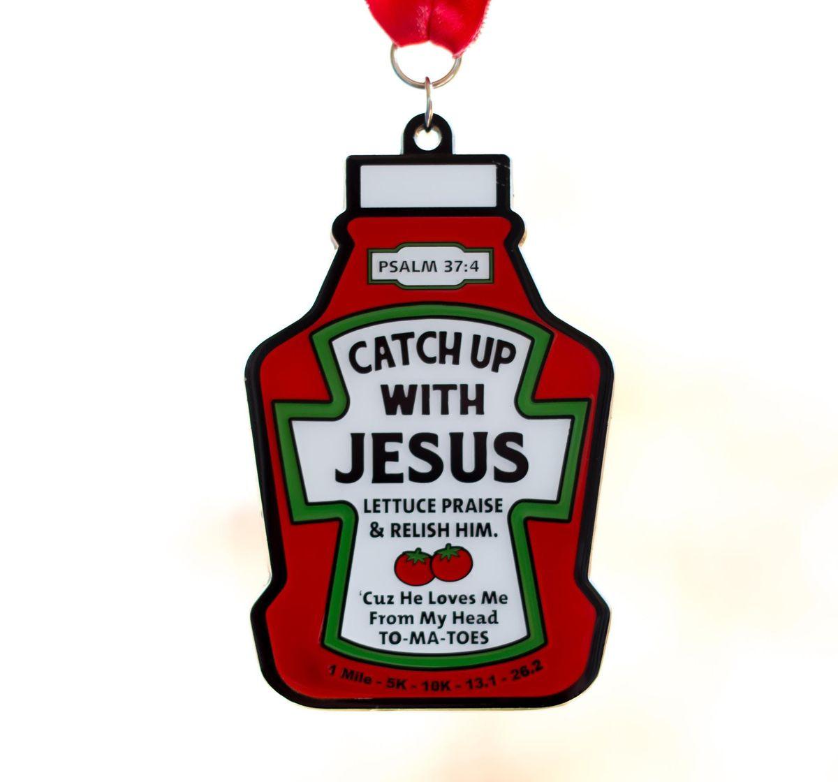 2019 Catch Up With Jesus 1 Mile 5K 10K 13.1 26.2 - Coeur d Alene