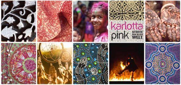Lagerverkauf fr Stoffe und Schnittmuster - Karlotta Pink