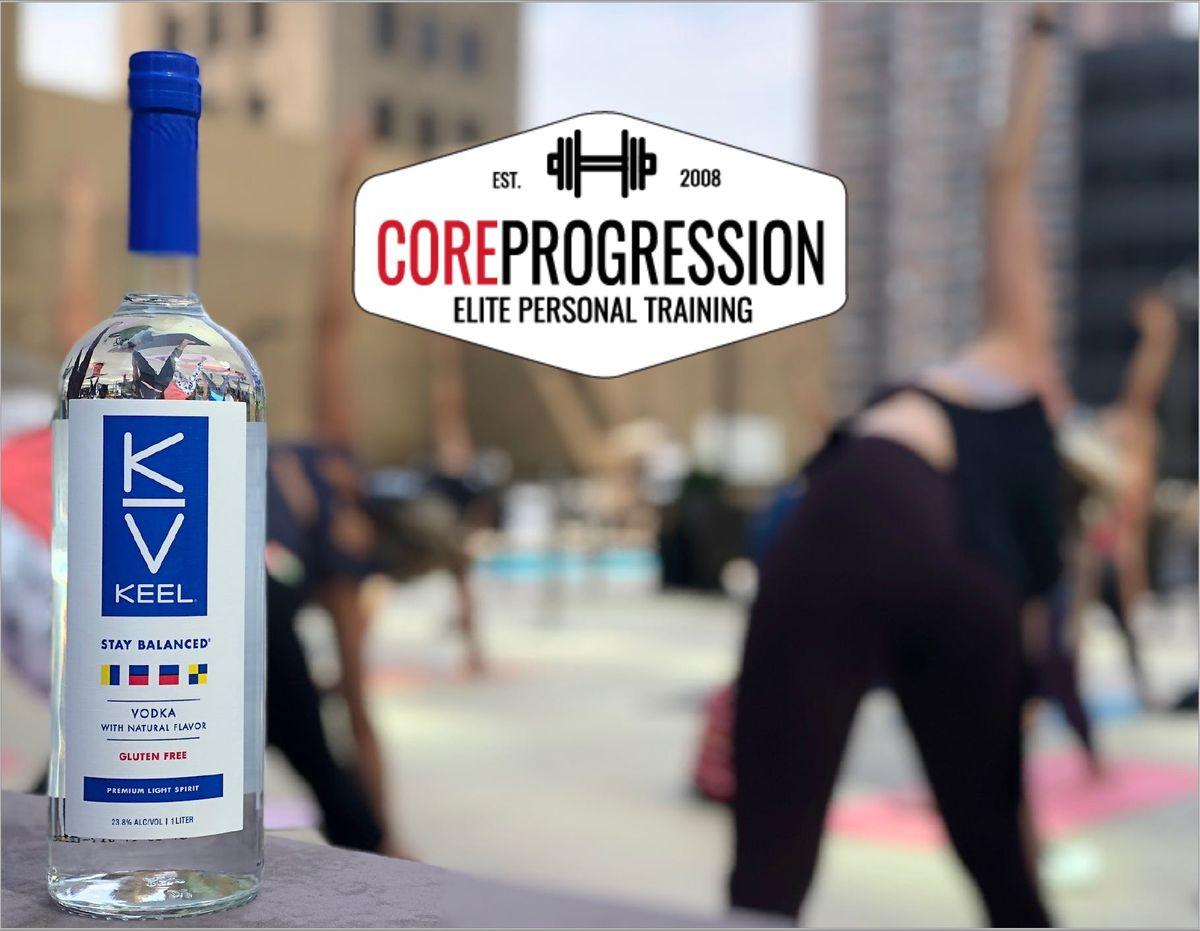 CORE PROGRESSION  KEEL VODKA - Speed Dating Fitness Circuit