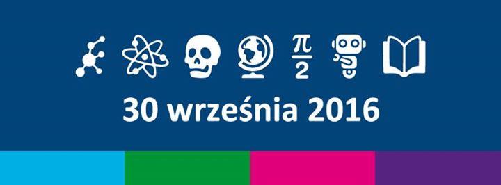 Znalezione obrazy dla zapytania noc naukowców 2016 logo