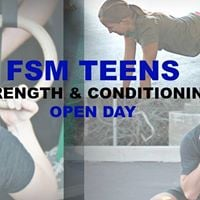Teens Strength &amp Conditioning Open Day